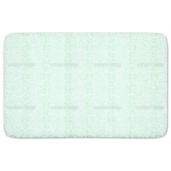 The Silence Of A Floral Heaven Bath Mat