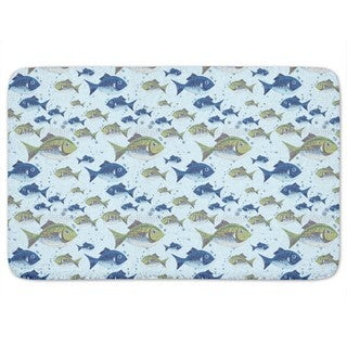 The North Sea Fish Bath Mat