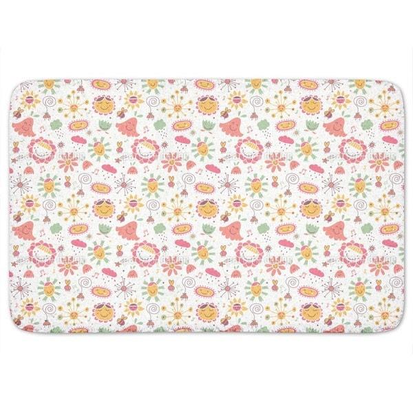 The Flower Song Bath Mat