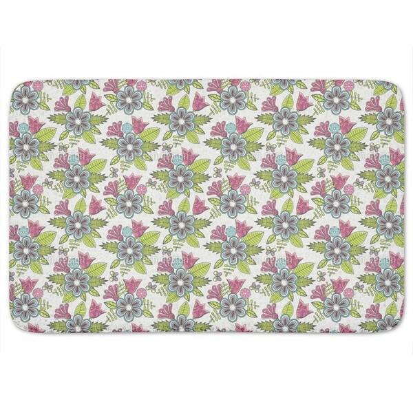 Sweet Flower Bouquet Bath Mat