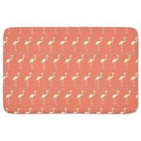 Sunset Flamingo Bath Mat