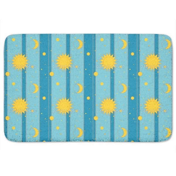 Shop Sun Moon And Stars Bath Mat Free Shipping On Orders Over 45
