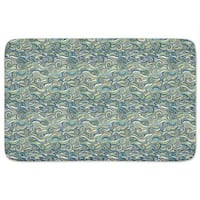 Stormy Sea Bath Mat