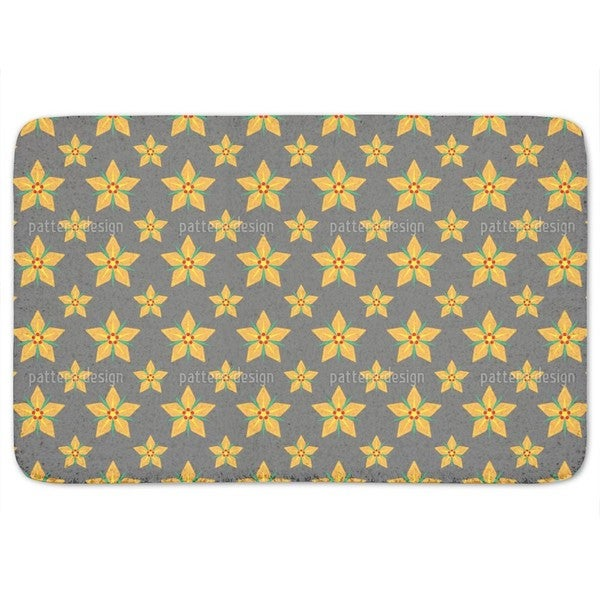 Starflowers Bath Mat
