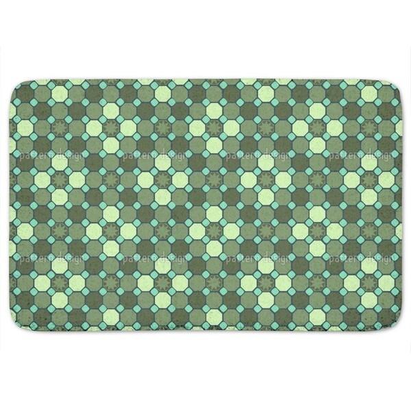 Star Mosaic Bath Mat