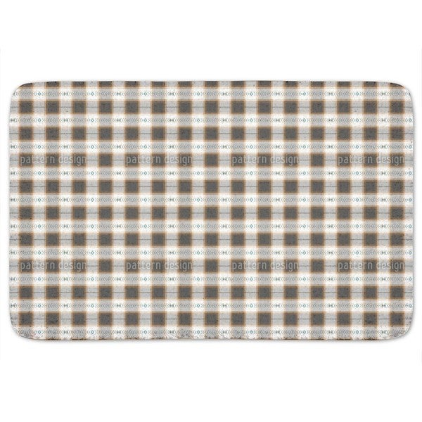 Square On Weave Bath Mat