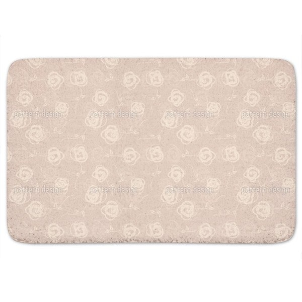 Rosebuds Flower Swing Bath Mat