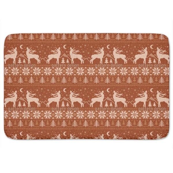 Roaring Deer In Norway Bath Mat