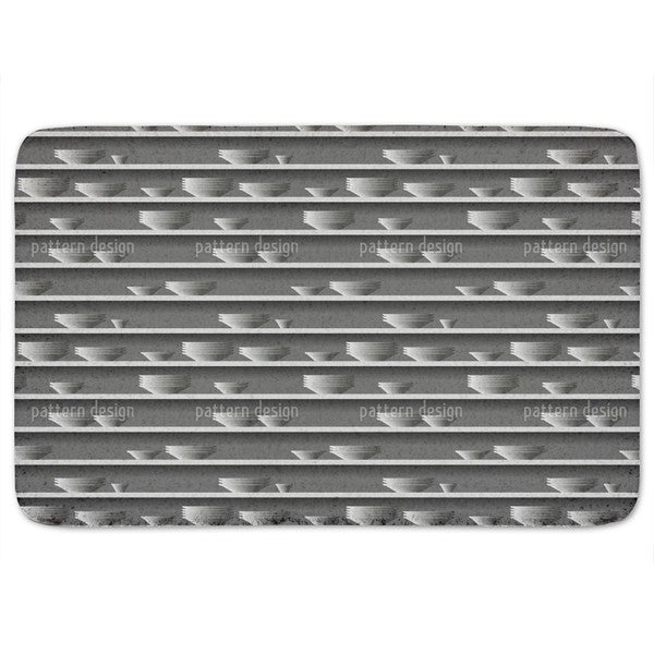 Rim Of Plate Bath Mat