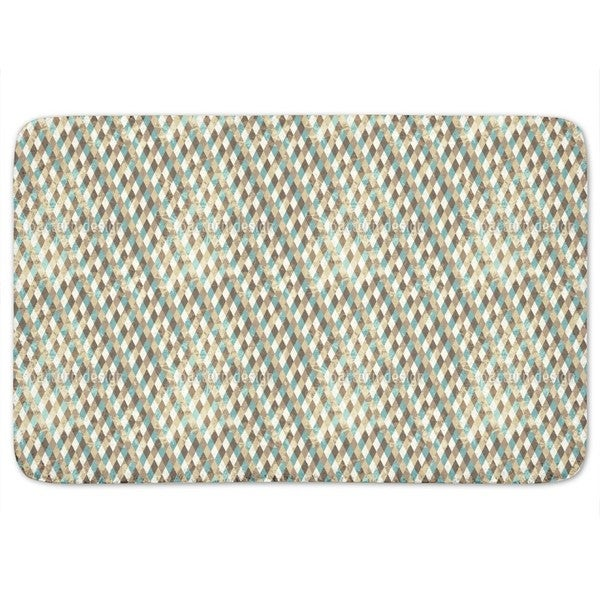 Retro Rhombus Bath Mat
