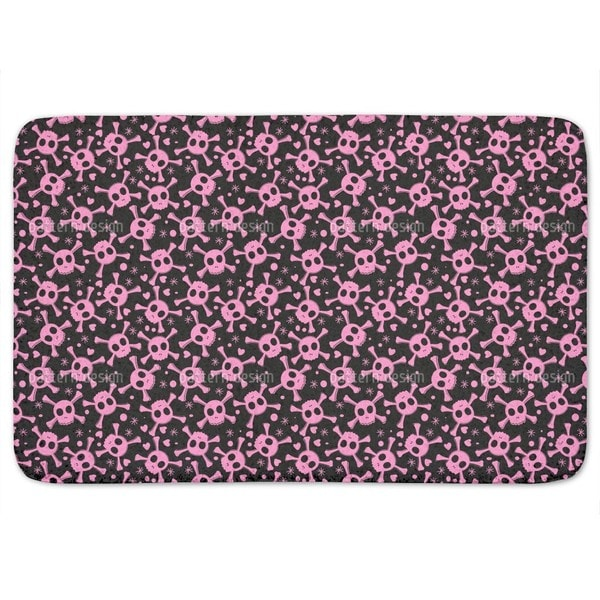 Pirate Lily Is In Love Bath Mat