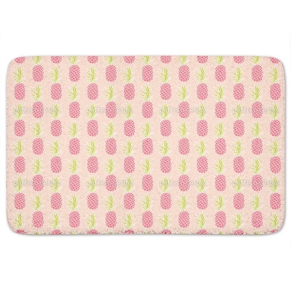 Pineapple Sunset Bath Mat