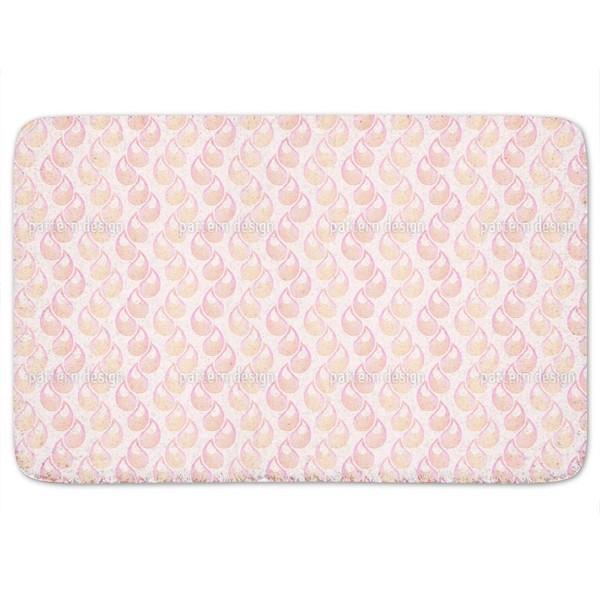 Pink tears Bath Mat