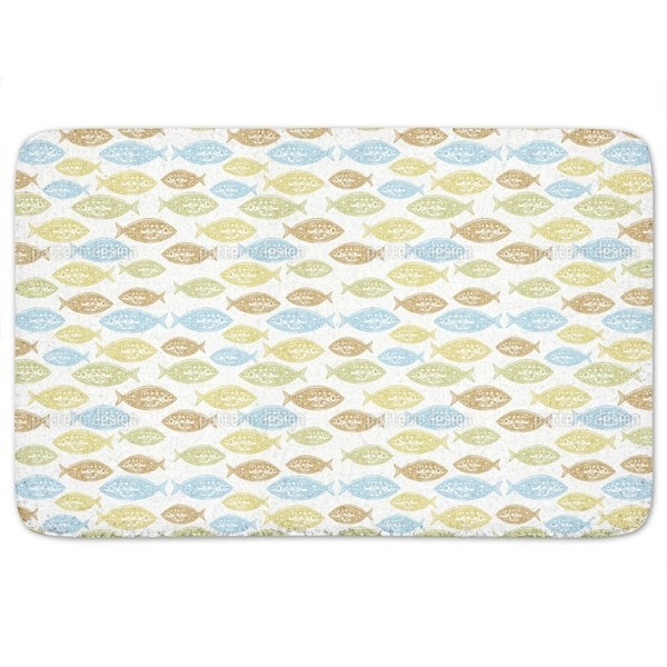 Pacific Fish Bath Mat