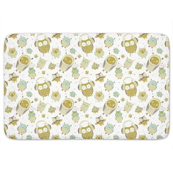 Owls Show Bath Mat
