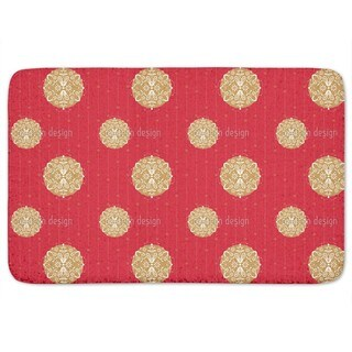 Ornaments For Christmas Bath Mat