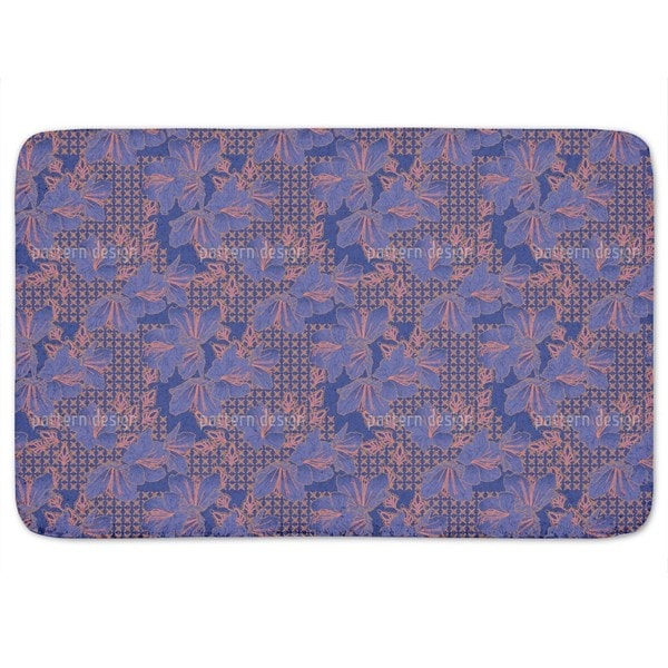 Oriental Blossoms Imperial Bath Mat
