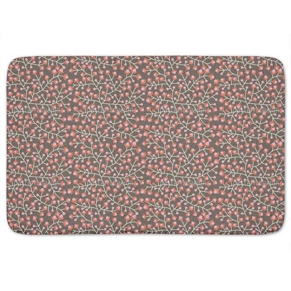 Nordic Floral Bath Mat
