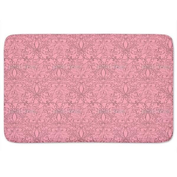 Spiritual Loopies Pink Bath Mat
