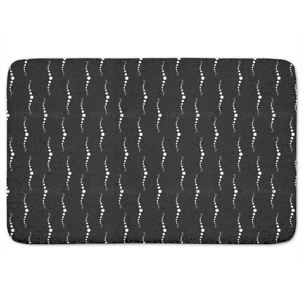 Night Of The Pearl Divers Bath Mat