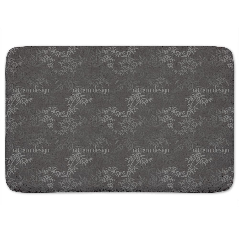 Uneekee Night In The Bamboo Forest Bath Mat (Memory Foam ...