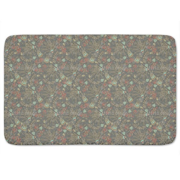 Natashas Magic Garden Bath Mat
