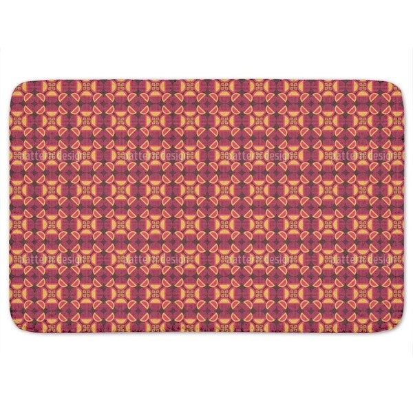 Retro Mystery Bath Mat