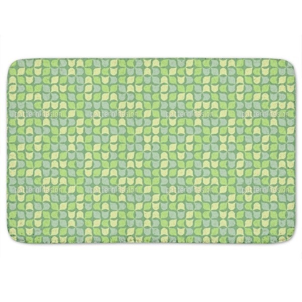 Retro Ivy Bath Mat