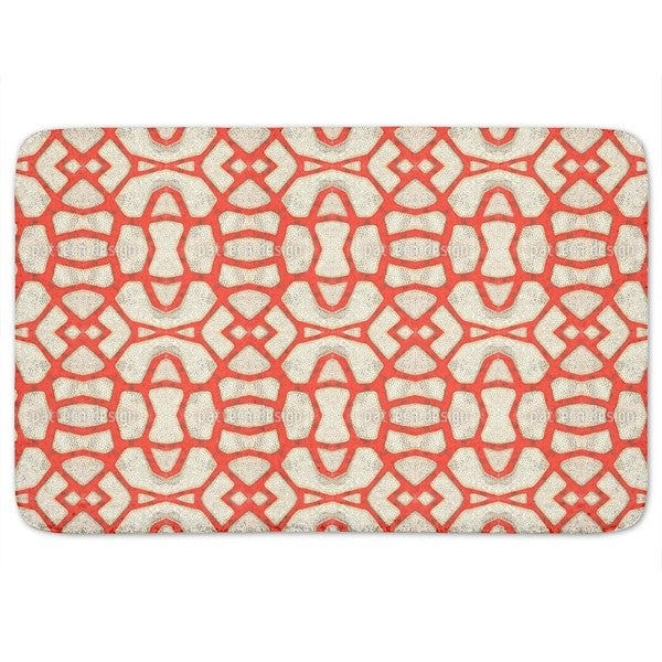 Red Coral Bath Mat