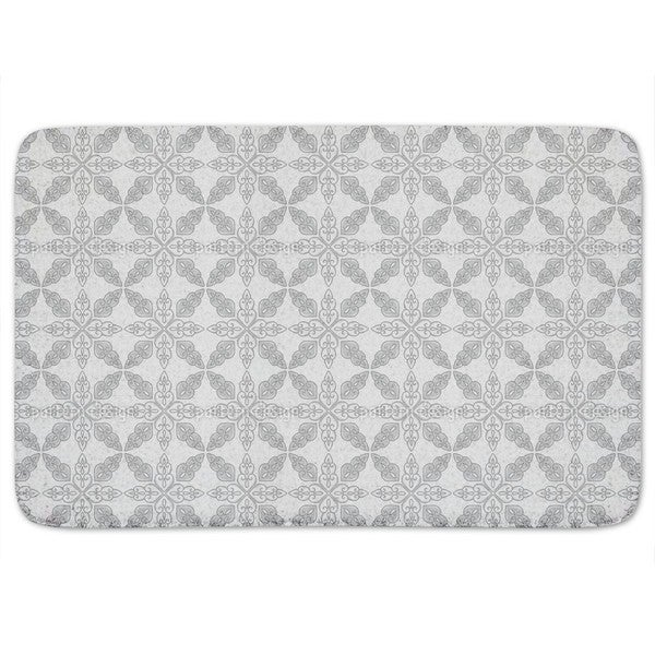 Moroccan Grey Bath Mat