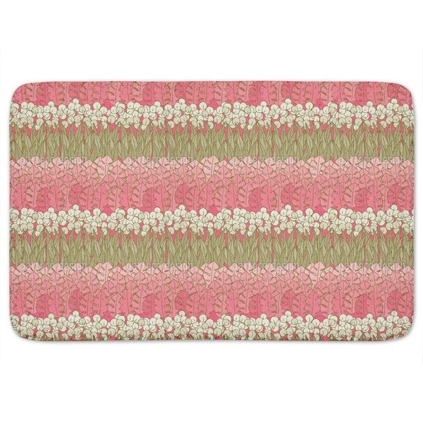 Mommies Flower Bed Bath Mat