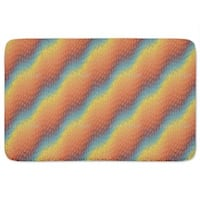 Rainbow Drops Bath Mat