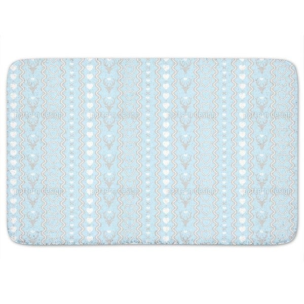 Mating Season Pastel Bath Mat