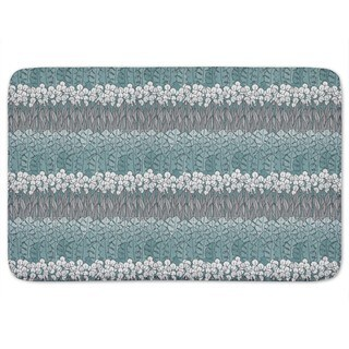 Poseidons Flower Bed Bath Mat