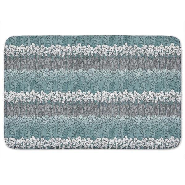 Poseidons Flower Bed Bath Mat