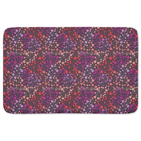 Pop Berries Bath Mat