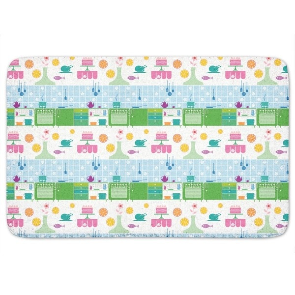 Kitchen Dreams Of A Housewife Bath Mat