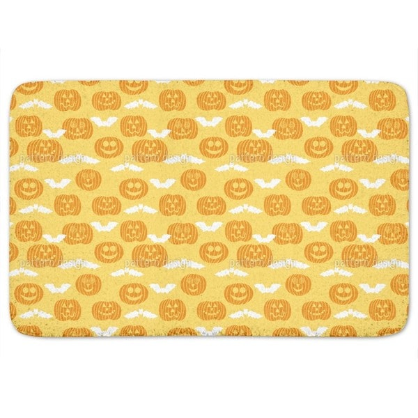 Jack O Lantern And Bat Bath Mat Free Shipping On Orders Over 45 11609950