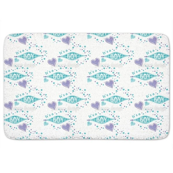 It Is A Boy Bath Mat