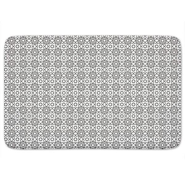 Islamic Tile Bath Mat