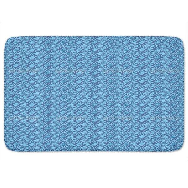 Maori fish bath mat free shipping on orders over 45 for Fish bath mat