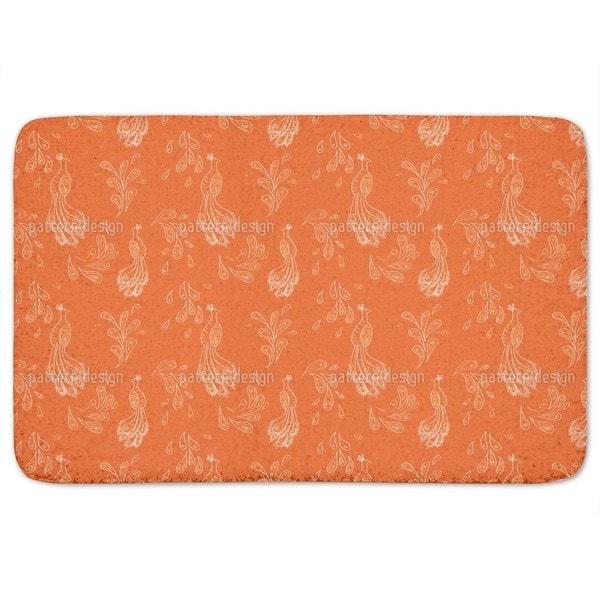 Maharani Orange Bath Mat