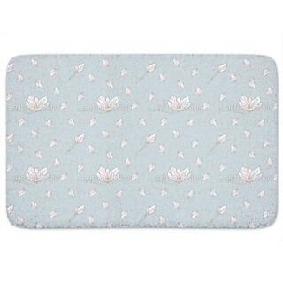 Magnolia Bloom Bath Mat