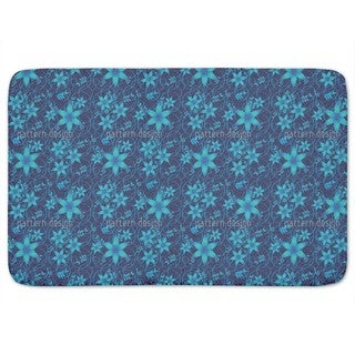 Magic Night Wood Bath Mat