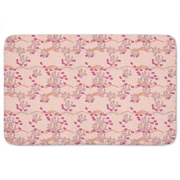 Lotus Love Pink Bath Mat