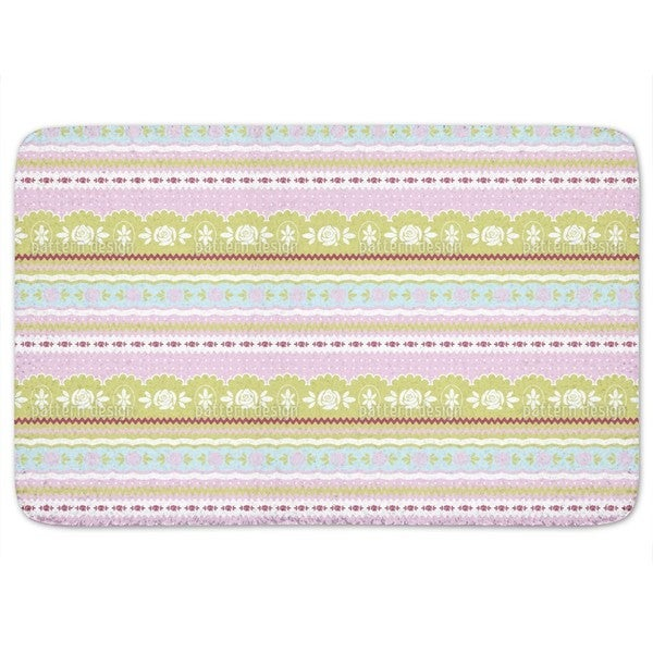Little Rosy Ring Bath Mat