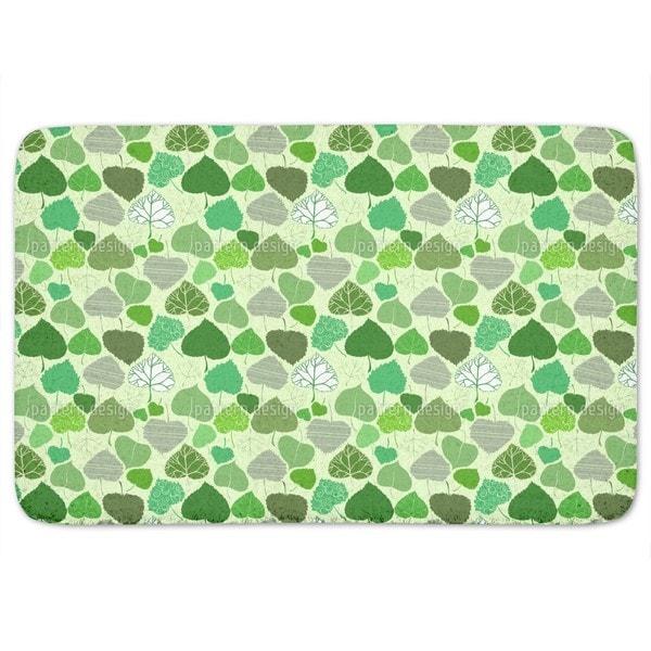 Leaf World Bath Mat