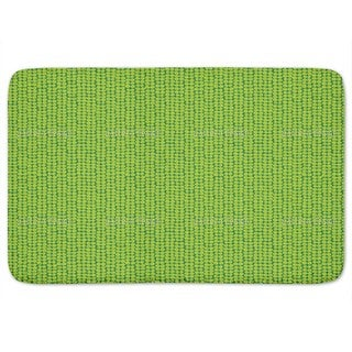 Somette Quincy Super Shaggy Lime Green 2 Piece Bath Rug