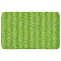 Leaf Green Retro Bath Mat