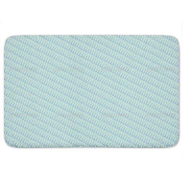 Lamello Blue Bath Mat